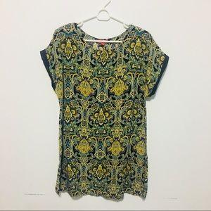 Tops - Boho Hippie Lightweight Tunic Shirt, Sz 14